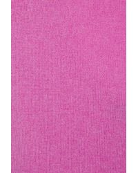 Ralph Lauren Black Label - Pink Cutout Cashmere Dress - Lyst