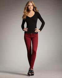True Religion   Casey Legging Jeans, Redwood   Lyst