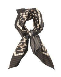 Weekend by Maxmara | Animal Cometa Leopard-Print Scarf | Lyst