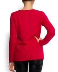 Mango - Pink Knit Sweater - Lyst