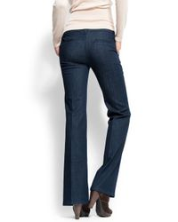 Mango | Blue Belt Bottom Chino Jeans | Lyst