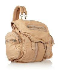 Alexander Wang | Brown Marti Leather Backpack | Lyst