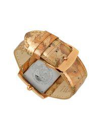 Alviero Martini 1A Classe | Metallic 1a Prima Classe - Ladies Crystal Geo Gold Plated Watch | Lyst