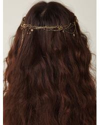 Free People | Metallic Lost Garden Headpiece | Lyst