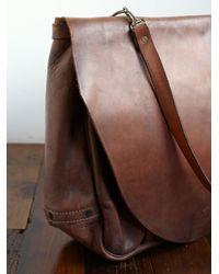Free People | Brown Vintage S Us Postal Service Bag | Lyst