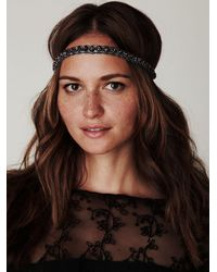 Free People | Metallic Zina Stone Headpiece | Lyst