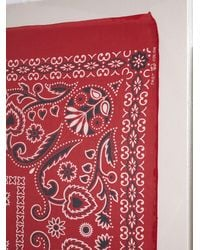 Free People - Vintage Red Colorfast Bandanas - Lyst