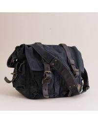 J.Crew | Black Belstaff® Colonial Shoulder Bag for Men | Lyst