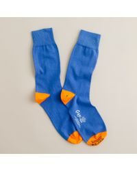 J.Crew | Blue Corgi™ Lightweight Pattern Socks for Men | Lyst