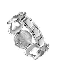 Just Cavalli - Metallic Jc Cruise - Black Horsebit Crystal Bracelet Watch - Lyst