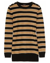 Mulberry | Black Peace & Love wool and angora-blend sweater | Lyst