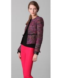 Nanette Lepore | Pink Juke Box Jacket | Lyst