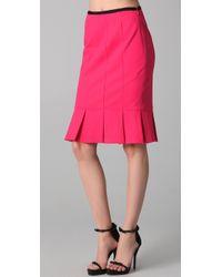 Nanette Lepore | Pink Sacada Skirt | Lyst