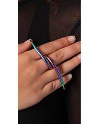 Pamela Love - Multicolor Porcupine Ring - Lyst