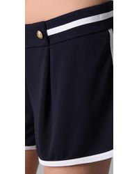 Philosophy di Alberta Ferretti - Blue Sailor Shorts - Lyst