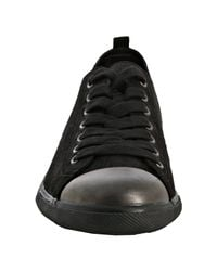 Prada - Sport Black Suede Lace Up Sneakers for Men - Lyst