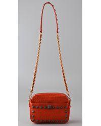 Rebecca Minkoff - Orange Chance Cross Body Bag - Lyst