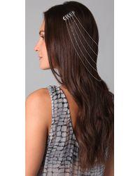Belle Noel | Metallic Egyptian Hair Chain | Lyst