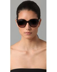 Chloé - Brown Cirse Retro Sunglasses - Lyst