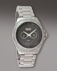 Dolce & Gabbana | Metallic Chamonix Watch for Men | Lyst