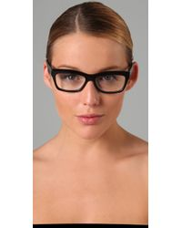 Elizabeth and James - Black Delancey Glasses - Lyst