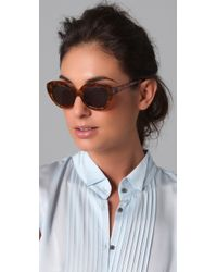 Elizabeth and James | Brown Taylor Sunglasses | Lyst