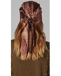 Eugenia Kim - Brown Gigi Headscarf - Lyst