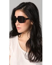 House of Harlow 1960 | Black Paula Sunglasses | Lyst