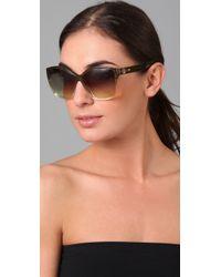 House of Harlow 1960 - Green Jordana Sunglasses - Lyst