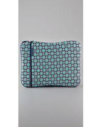 Jonathan Adler | Blue Moroccan Grill Laptop Sleeve | Lyst