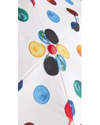 Juicy Couture | Multicolor Watercolor Dot Umbrella | Lyst