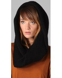 Marc By Marc Jacobs | Uma Knit Snood, Black | Lyst