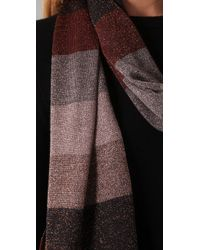 Marc By Marc Jacobs - Metallic Camino Lurex Scarf - Lyst