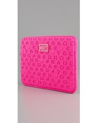 Marc By Marc Jacobs | Purple Stardust 13 Neoprene Computer Case | Lyst
