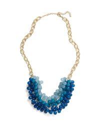 ModCloth | Blue Tidal Crave Necklace | Lyst