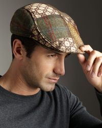 Robert Graham | Brown Wyatt Patchwork Ivy Cap for Men | Lyst
