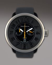 Tendence | Black 50mm Swiss Chronograph Watch for Men | Lyst