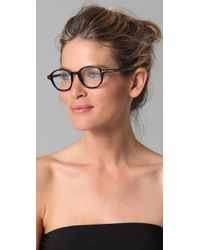 Tom Ford - Black Round Glasses - Lyst