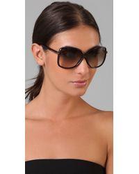 Tom Ford - Brown Callae Sunglasses - Lyst