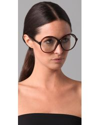 Tom Ford | Brown Rhonda Glasses | Lyst