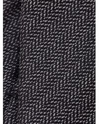 Z Zegna - Gray Herringbone Tie for Men - Lyst