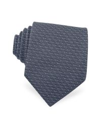 Dior - Blue Signature Woven Silk Tie for Men - Lyst