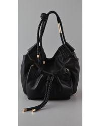 Foley + Corinna   Black Kat Shoulder Bag   Lyst