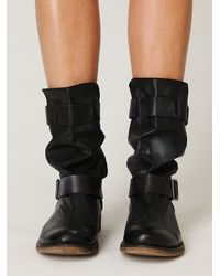 Free People | Black Darcy Boot | Lyst
