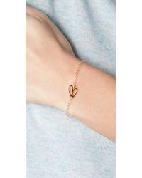 Gorjana - Metallic Gatsby Charm Bracelet - Lyst