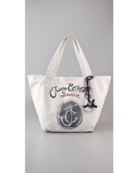 Juicy Couture | White Gen Y Ahoy Juicy Tote | Lyst