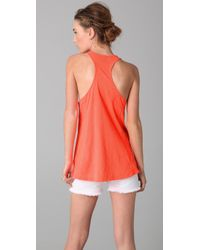Sass & Bide | Red The Innocent One Racer Back Tank | Lyst