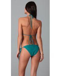 Thayer - Blue Fringe Bikini - Lyst