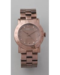 Marc By Marc Jacobs | Brown Amy Watch | Lyst