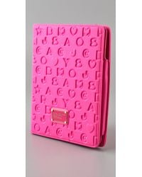 Marc By Marc Jacobs | Pink Stardust Neoprene Ipad Cover | Lyst